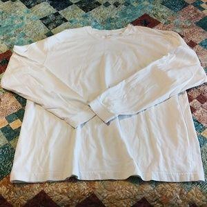 Long sleeve crew neck Gap t-shirt
